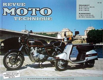 "Picture of PEUGEOT SCOOTER SC 50 ET SX80 L (84/92) N° 54 - SERIE ""REVUE MOTO TECHNIQUE"""