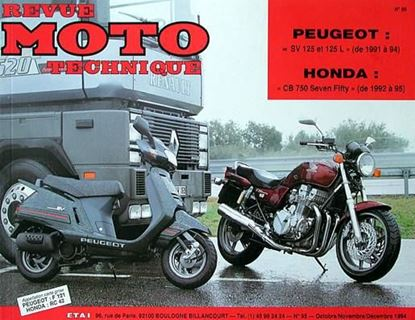 "Picture of PEUGEOT SV 125 ET 125 (91/95) N° 95 - SERIE ""REVUE MOTO TECHNIQUE"""