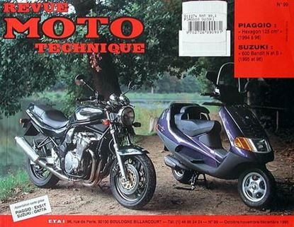 "Picture of PIAGGIO HEXAGON 125 (94/96) N° 99 - SERIE ""REVUE MOTO TECHNIQUE"""