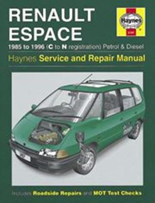 Picture of RENAULT ESPACE PETROL & DIESEL 1985-96 N. 3197 OWNERS WORKSHOP MANUALS