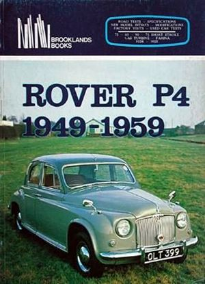 Picture of ROVER P4 1949/59