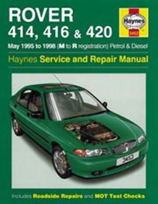 Picture of ROVER 400 SERIES PETROL & DIESEL, 1995-98 N. 3453 OWNERS WORKSHOP MANUALS