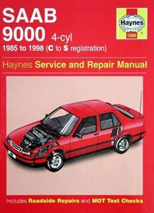 Immagine di SAAB 9000 4-cyl 1985 TO 1998 SERVICE & REPAIR MANUAL N. 1686