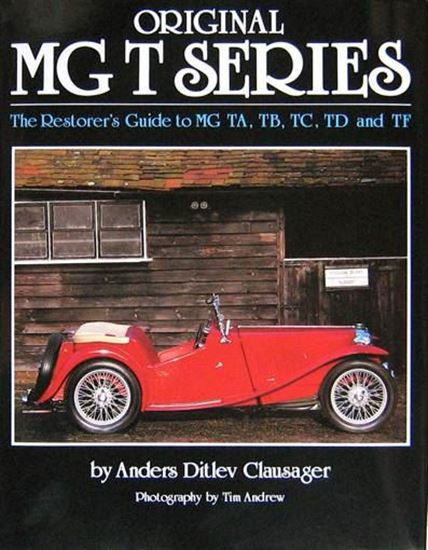 Original mg t series the restorer 39 s guide to mg ta tb tc for Table th td tf