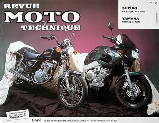 "Picture of SUZUKI GN 125 (87/96) N°104 - SERIE ""REVUE MOTO TECHNIQUE"""