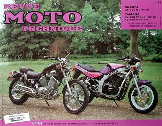 "Picture of SUZUKI GS 500 E (89/96) N° 83 - SERIE ""REVUE MOTO TECHNIQUE"""