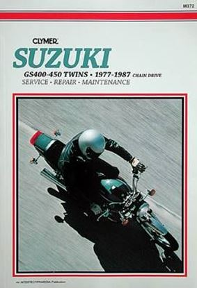 Immagine di SUZUKI GS400-450 TWINS 1977-87 - M372 - CLYMER REPAIR MANUALS