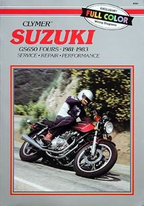 Immagine di SUZUKI GS650 FOURS 1981-83 - M364 - CLYMER REPAIR MANUALS