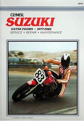 Immagine di SUZUKI GS750 FOURS 1977-82 - M370 - CLYMER REPAIR MANUALS