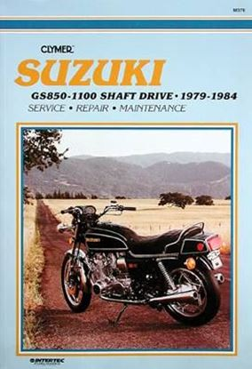 Immagine di SUZUKI GS850-1100 SHAFT DRIVE 1979-84 - M376 - CLYMER REPAIR MANUALS.