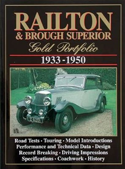 Immagine di RAILTON & BROUGH SUPERIOR GOLD PORTFOLIO 1933/50