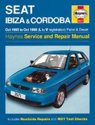 Picture of SEAT IBIZA & CORDOBA PETROL & DIESEL 1993-99 N. 3571 OWNERS WORKSHOP MANUALS