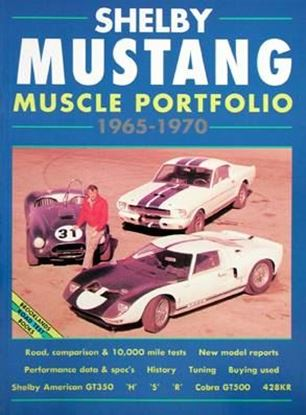 Picture of SHELBY MUSTANG MUSCLE PORTFOLIO 1965/70