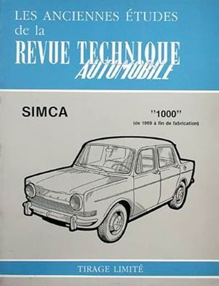 Picture of SIMCA 1000 DE 1969