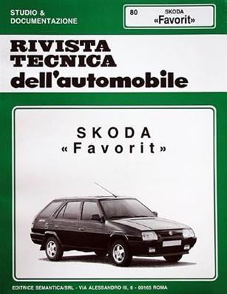 Picture of SKODA FAVORIT, 1987-95 N. 80 SERIE «RIVISTA TECNICA DELL'AUTOMOBILE»