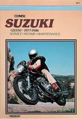 Immagine di SUKUZI GS550 FOURS 1977-86 - M373 - CLYMER REPAIR MANUALS