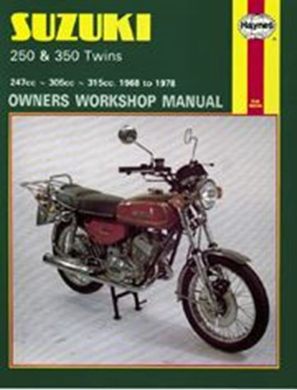 Immagine di SUZUKI 250 & 350 TWINS 1968-78 N. 0120 - OWNERS WORKSHOP MANUALS