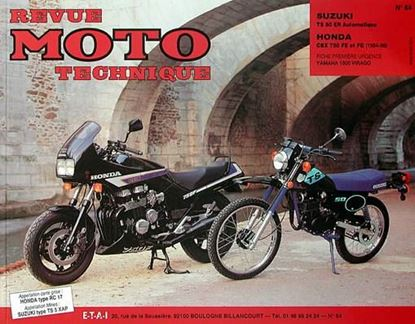 "Picture of SUZUKI TS 50 AUTOMATIQUE (82/87) N° 64 - SERIE ""REVUE MOTO TECHNIQUE"""