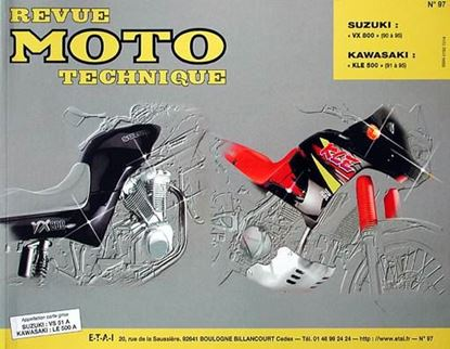"Picture of SUZUKI VX 800 (90/95) N° 97 - SERIE ""REVUE MOTO TECHNIQUE"""