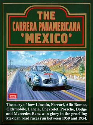 "Picture of THE CARRERA PANAMERICANA MEXICO Serie ""Brooklands Books"""