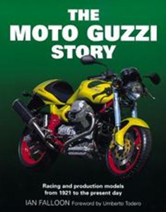 Picture of THE MOTO GUZZI STORY 1st Edition 1999