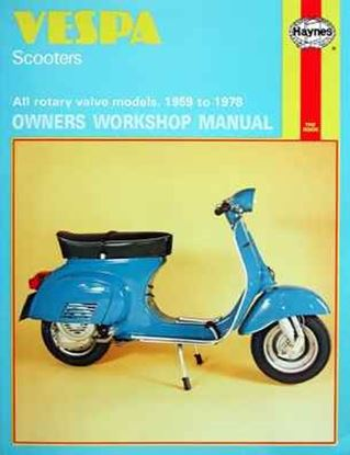 Immagine di VESPA SCOOTERS 1959-78 OWNERS WORKSHOP MANUALS N. 0126