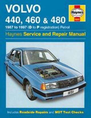 Picture of VOLVO 440/460 & 480, 1987-97 N. 1691 OWNERS WORKSHOP MANUALS