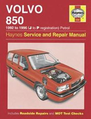 Immagine di VOLVO 850, 1992-96 N. 3260 OWNERS WORKSHOP MANUALS
