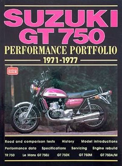 Picture of SUZUKI GT 750 PERFORMANCE PORTFOLIO 1971-1977