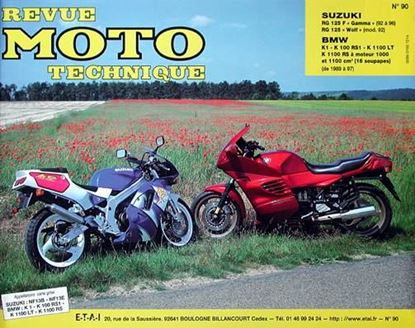 "Picture of SUZUKI RG 125 F ET WOLF (92/96) N° 90 - SERIE ""REVUE MOTO TECHNIQUE"""