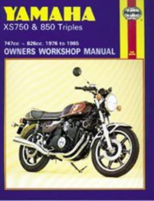 Picture of YAMAHA XS750/850 TRIPLES 1976-85 N. 0340 - OWNERS WORKSHOP MANUALS