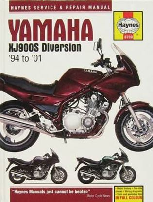 Picture of YAMAHA XJ900S DIVERSION '94 TO '01 N. 3739 OWNERS WORKSHOP MANUALS