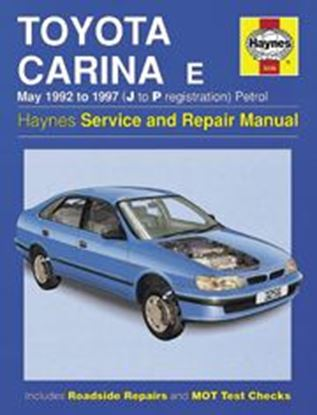 Picture of TOYOTA CARINA E PETROL 1992/97 N. 3256 OWNERS WORKSHOP MANUALS