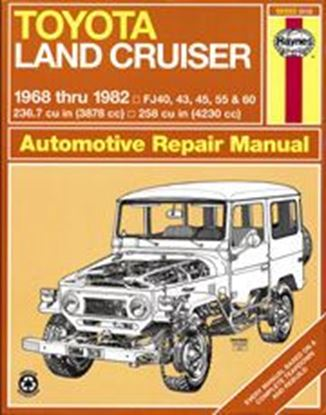 Immagine di TOYOTA LAND CRUISER PETROL 1968/82 OWNERS WORKSHOP MANUAL N. 313