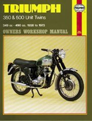 Picture of TRIUMPH 350 & 500 UNIT TWINS 1958-73 N. 0137 - OWNERS WORKSHOP MANUALS