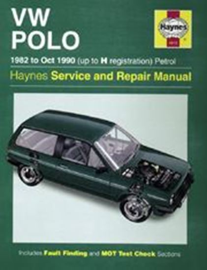 Immagine di VW POLO 1982-87 N. 0813 OWNERS WORKSHOP MANUALS