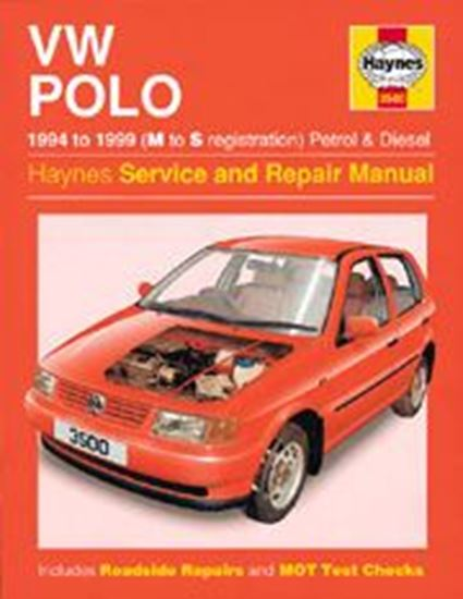 Picture of VW POLO PETROL & DIESEL 1994-98 N. 3500 OWNERS WORKSHOP MANUALS