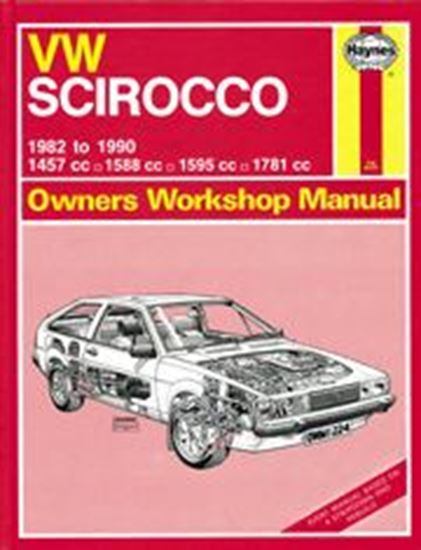 Immagine di VW SCIROCCO 1982-90 N. 1224 OWNERS WORKSHOP MANUALS