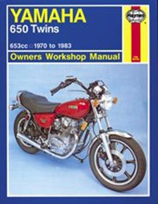 Picture of YAMAHA 650 TWINS 1970-83 N. 0341 - OWNERS WORKSHOP MANUALS