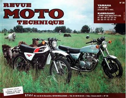 "Picture of YAMAHA DT 125 MX (77/91) N° 30 - SERIE ""REVUE MOTO TECHNIQUE"""