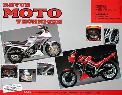 "Picture of YAMAHA FJ 1100-FJ (84/85) 1200-FJ 1200 ABS (86/95) N° 57 - SERIE ""REVUE MOTO TECHNIQUE"""
