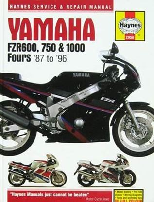Picture of YAMAHA FZR600, 750 & 1000 FOUR 1987-96 N. 2056 - OWNERS WORKSHOP MANUALS