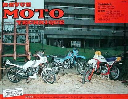 "Picture of YAMAHA RD 125 LC ET DT 125 LC (81/83) N° 48 - SERIE ""REVUE MOTO TECHNIQUE"""