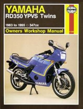 Immagine di YAMAHA RD350 YPVS TWINS 1983-95 N. 1158 - OWNERS WORKSHOP MANUALS