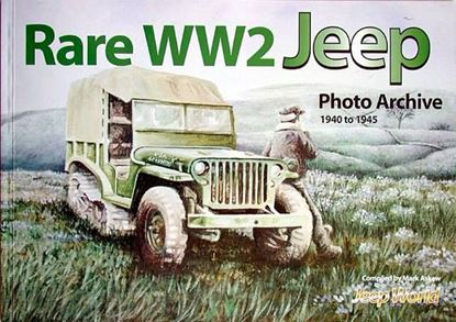 Immagine di RARE WW2 JEEP PHOTO ARCHIVE 1940 TO 1945