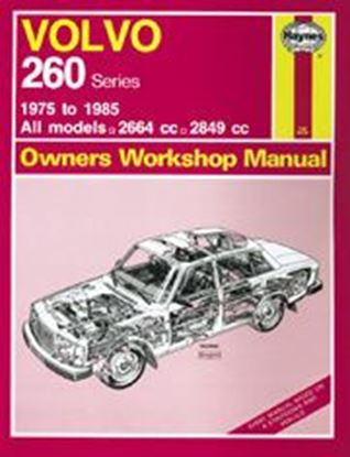 Picture of VOLVO 260 SERIES ALL MODELS 1975-85 N. 400 OWNERS WORKSHOP MANUALS