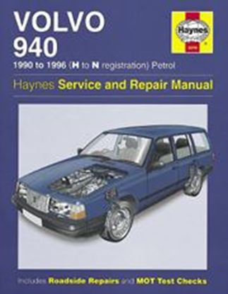 Picture of VOLVO 940 1990-1998 (H TO R REGISTRATION PETROL  N. 3249 OWNERS WORKSHOP MANUAL