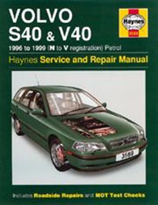 Picture of VOLVO S40 & V40, PETROL 1996-99 N. 3569 OWNERS WORKSHOP MANUALS