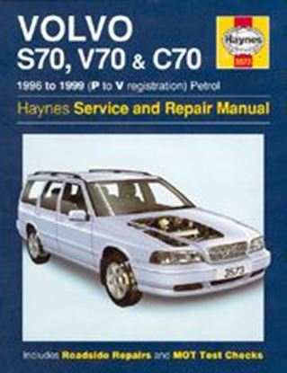 Picture of VOLVO S70, V70 & C70, PETROL 1996-99 N. 3573 OWNERS WORKSHOP MANUALS