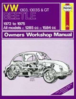 Picture of VW BEETLE 1303/1303S & GT, 1972-75 CLASSIC REèPRINT OWM N. 0159